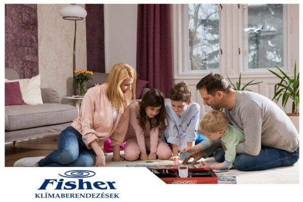 Fisher  Comfort Plus FSAI-CP-90BE3/FOAI-CP-90BE3 inverteres klíma, légkondi