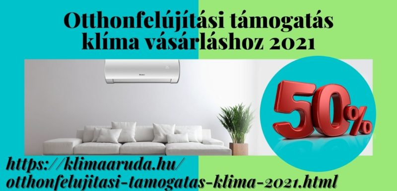 Otthonfelújítási támogatás klímára 2021