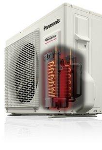 Panasonic Nordic klíma fűtésre