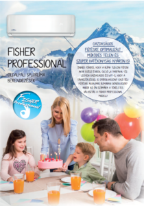 Fisher Professional klíma