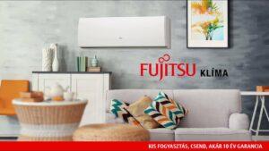 Fujitsu inverteres klíma