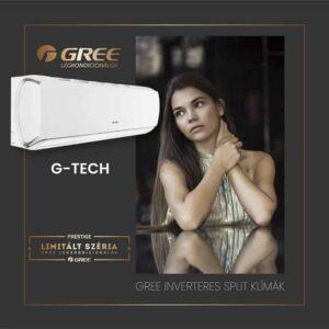 Gree GWH09AEC-K6DNA1A G-Tech split klíma