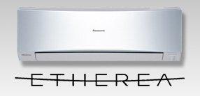 Panasonic ezüst Etherea klíma